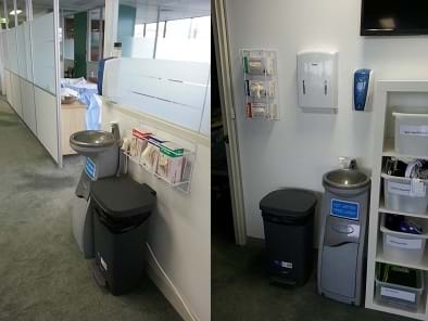 Aged Care - Prowash - Hand Wash Station - Portable Sink