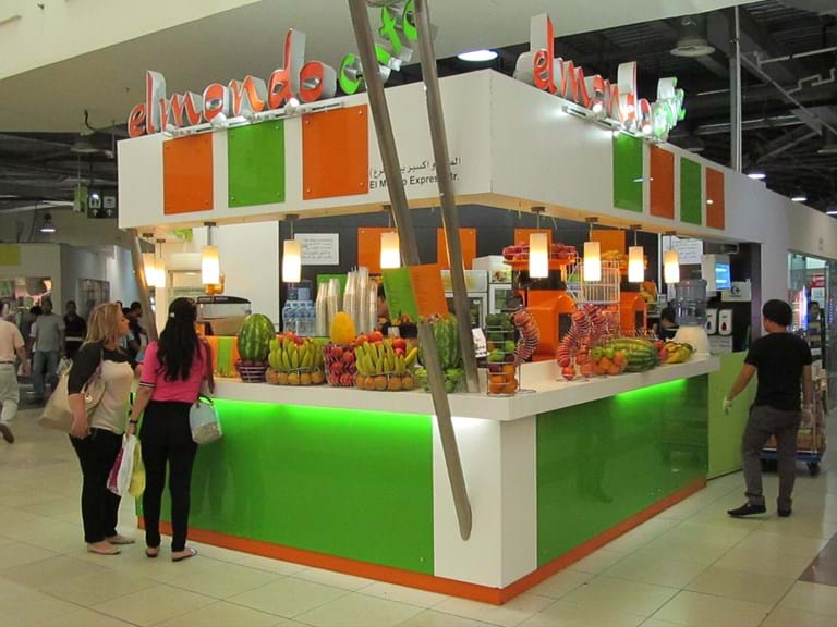 Centre mall kiosks- food - transplumb commercial sink